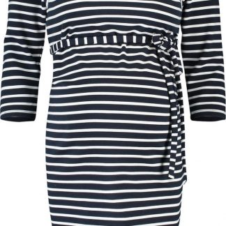 Noppies Zwangerschapsjurk Paris - Night Sky Stripe - Maat XS