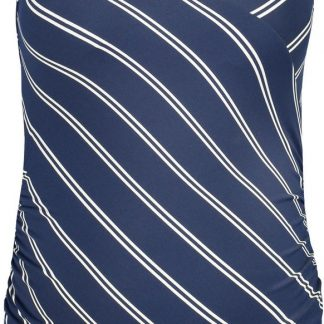 Noppies Zwangerschapsbadpak Noreen - Dress Blues Stripe - Maat XL/XXL