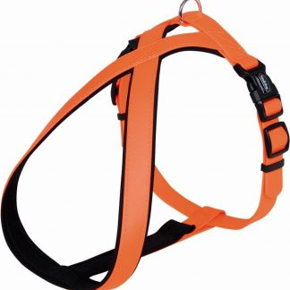 Nobby comfort hondentuig cover oranje - XS/S - buikband 30-40 cm - breedte 20-30 mm