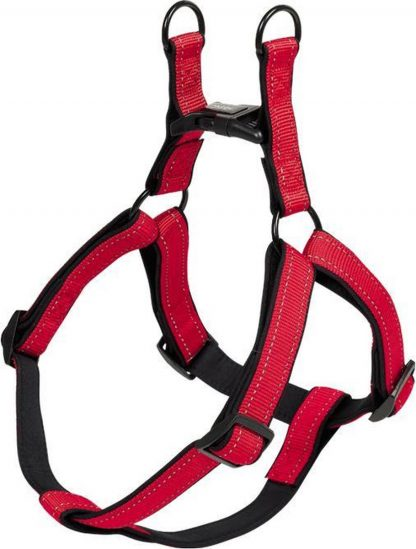 Nobby hondentuig classic reflect rood - XS - buikband 30/40 cm - breedte 10 mm