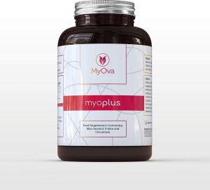 MyOva myoplus 4000 mg Myo-Inositol + foliumzuur - en chroom supplement - 120 capsules - PCOS