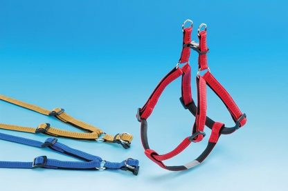 Nobby- Hondentuig - Body - Rood - Buikband 60 t/m 86 cm - 2,5 cm breed