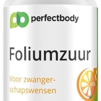 Foliumzuur (vitamine B11) Tabletten - 100 Tabletten - PerfectBody.nl