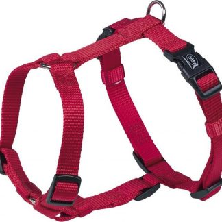 Nobby - hondentuig classic - rood - buikband 30 tot 50 cm - 1,5 cm breed