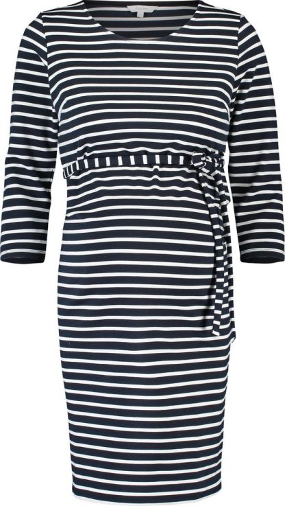 Noppies Zwangerschapsjurk Paris - Night Sky Stripe - Maat L