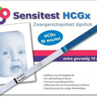 Sensitest zwangerschapstest dipstick sensitive 12 stuks