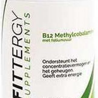 Fittergy Supplements - Methylcobalamine B12 - 90 tabletten - Vitamine B12, foliumzuur - Vitaminen - voedingssupplement