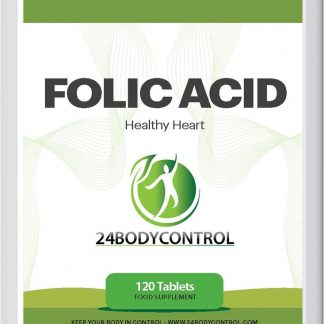 24Bodycontrol foliumzuur - 120 tabletten